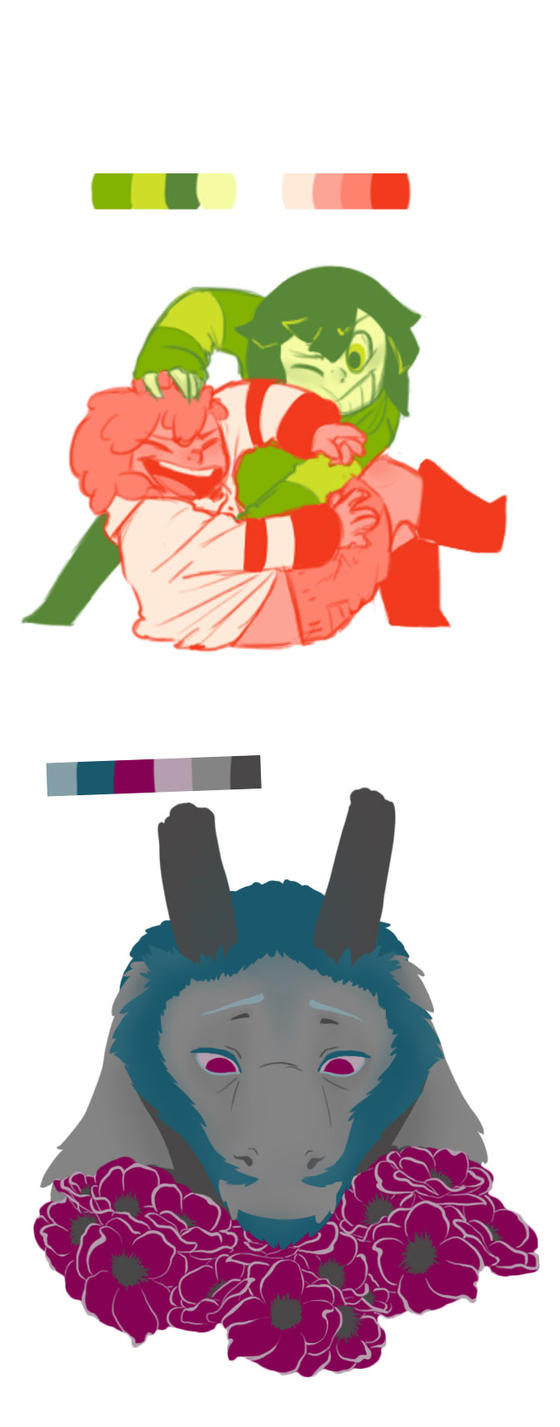 Palette- Asgore - Humans by QueensDaughters