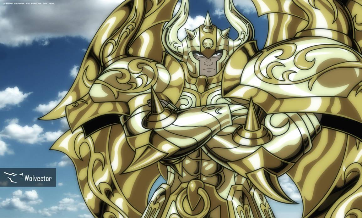 Taurus Aldebaran - God Cloth by Wolvector on DeviantArt