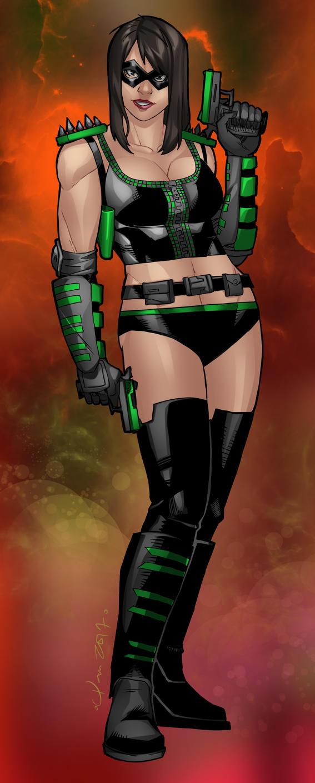 Green Phoenix by Rocawayman
