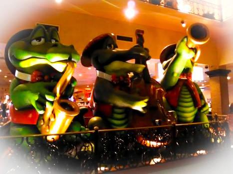 Gator Band - Orleans Hotel, Las Vegas