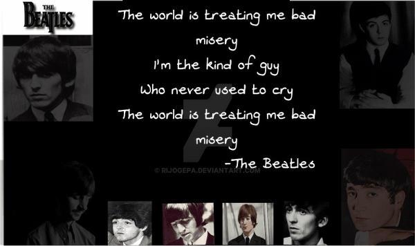 Sad Beatles Wallpaper By Rijogepa