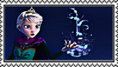 Frozen- Elsa stamp by Rijogepa