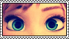 Frozen- Anna's eyes stamp by Rijogepa