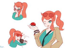 [Quick Sketches] Sonia~