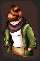 Wendy Corduroy or Kim (OC) - Autumn girl