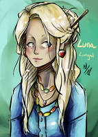 Luna Lovegood by thalle-my-honey