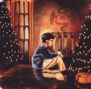 Harry Potter- Christmas Drawing Fun