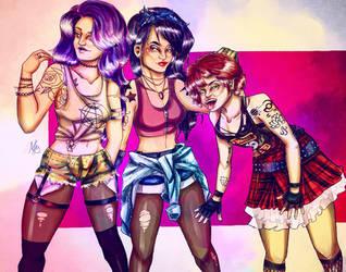 Fashion 4 Redraw (OC Art) by thalle-my-honey