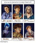 #Six Fanarts by thalle-my-honey