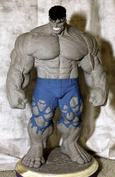 Dale Keown Merged Hulk Statue by sup3rs3d3d