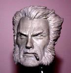 Wolverine head sculpt