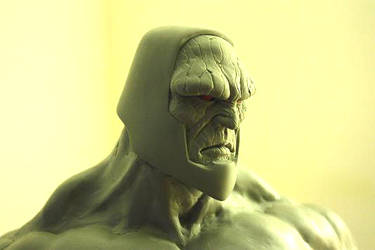 Darkseid sculpt by sup3rs3d3d