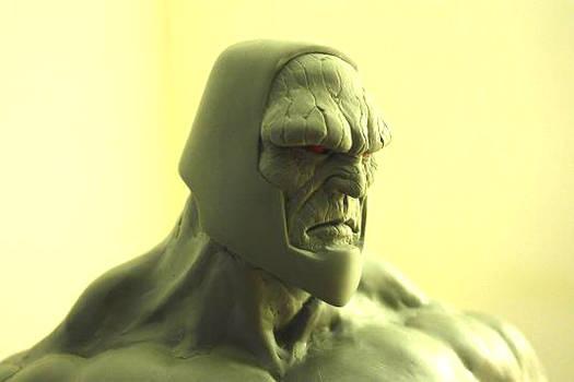 Darkseid sculpt