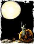 Halloween show poster design