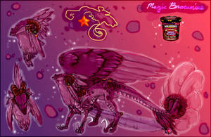 Magic Brownies the dragon by Anarchpeace