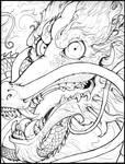 chinese dragon tattoo style