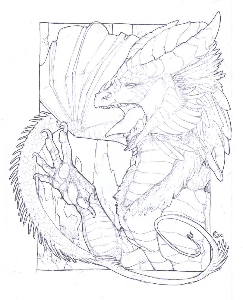 Fire And Ice Dragon Coloring Pages. Fire. Best Free ...