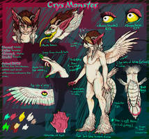 Crys Monster reference by Anarchpeace