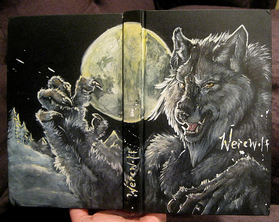 Cool Art Book Cover Ideas ~ Werewolf sketchbook cover by anarchpeace on deviantart