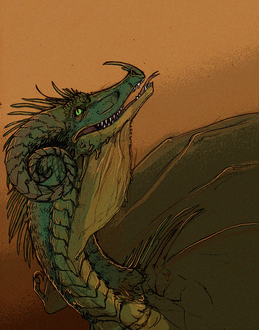 Drgn colored by Anarchpeace