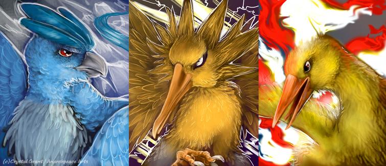 Legendary Birds by Anarchpeace