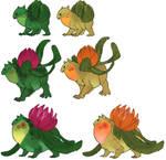 Demonic Bulbasaur family