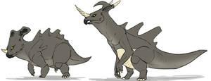 Rhyhorn and Rhydon demons