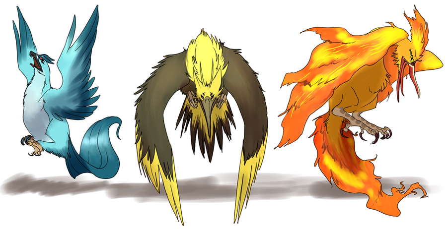 Mega Legendary Birds Legendary Bird Demons by umbbe