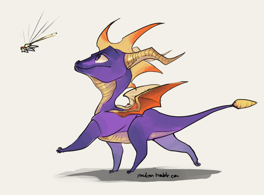 Spyro the dragon by umbbe