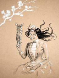 Gothic Lolita GF by Skulligan
