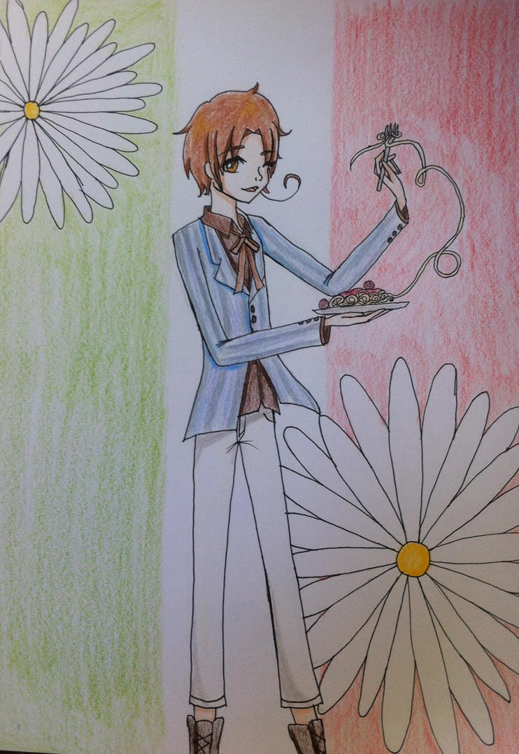 North Italy ( Hetalia ) by DisruptiveDiva