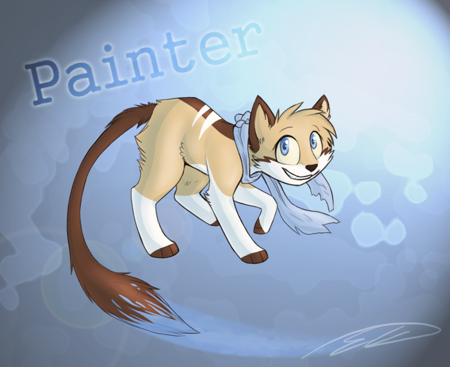 Painter by Feline-Basilisk