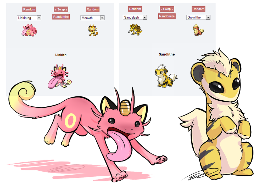 Products of science praised powerhouse or pained prisoner - Cute pokemon fusions ...