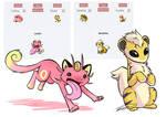 Some Pokemon Fusions