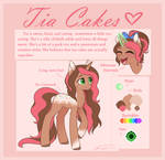 Tia Cakes - Reference | Commission