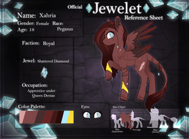 Xahria | Jewelet Reference by DoeKitty