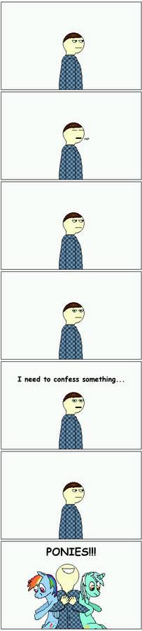 A confession...