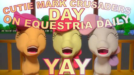 CUTIE MARK CRUSADERS DAY