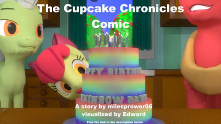 The Cupcake Chronicles Comic Chapter 3.1