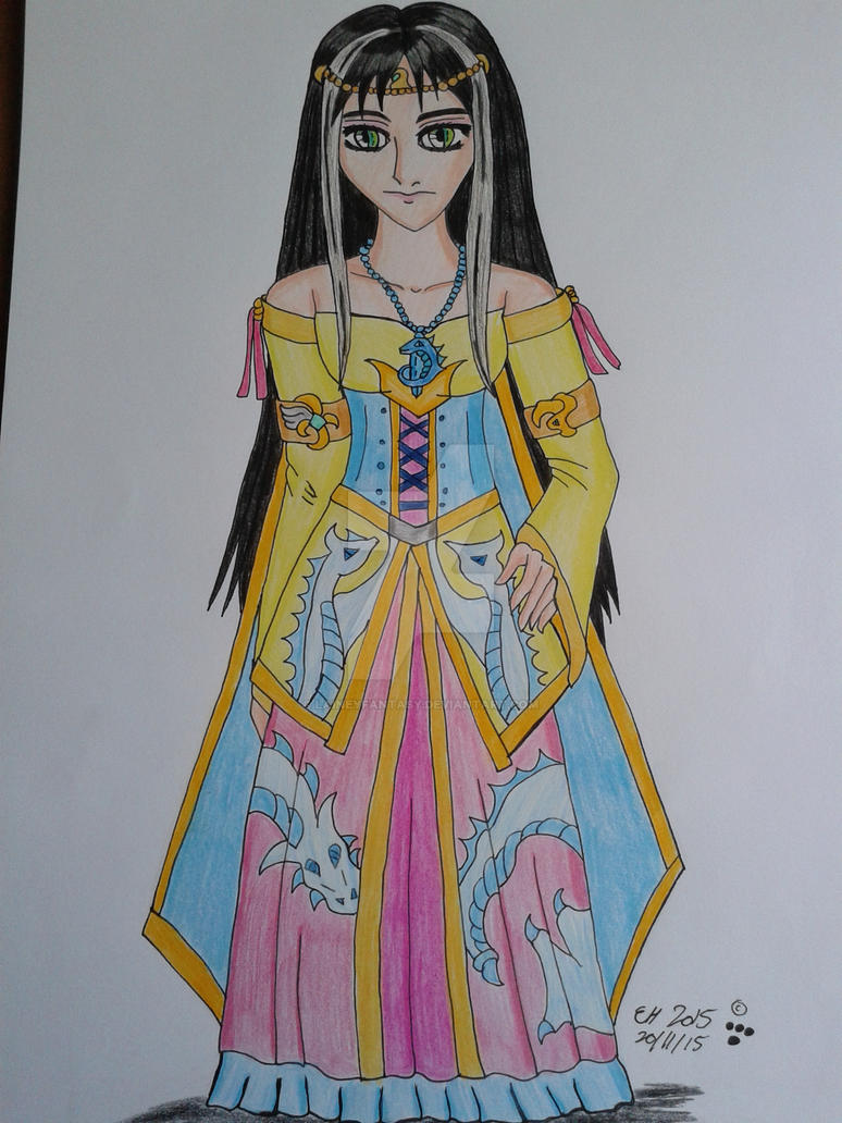 Dragon Princess Kayla Air by Laineyfantasy