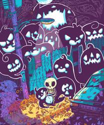 Halloween Skeleton by ErbMaster