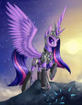 Princess of the shattered skies