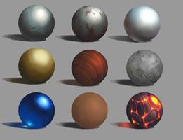 Material study by Asimos