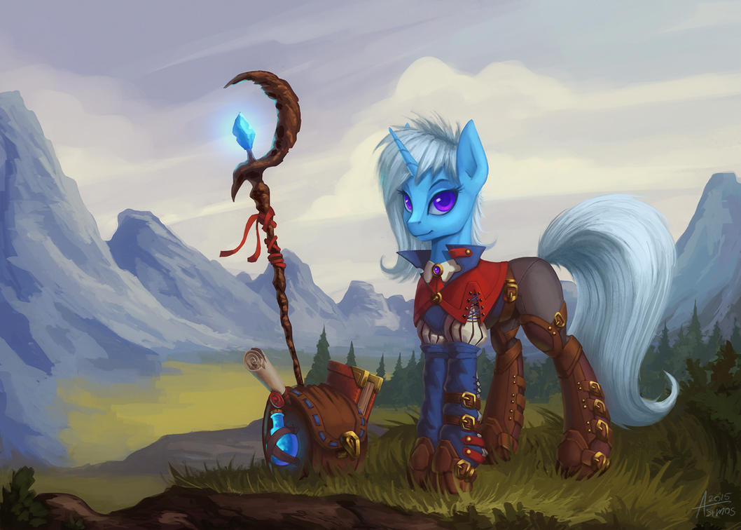 [Official!] Project Horizons Comment Crew Chat thread. - Page 31 Trixie_the_wandering_wizard_by_asimos-d8rr83s