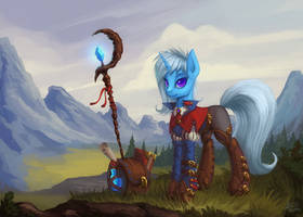 Trixie the Wandering Wizard by Asimos