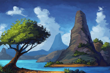 Landscape study 4 by Asimos