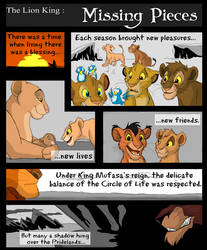 Missing Pieces page 1 by AudreyCosmo13