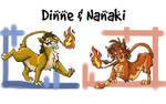 Nanaki and Dinne