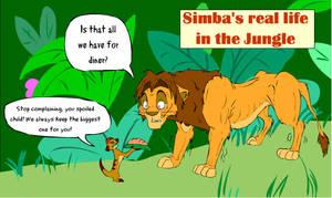 Simba is so selfish.. by AudreyCosmo13