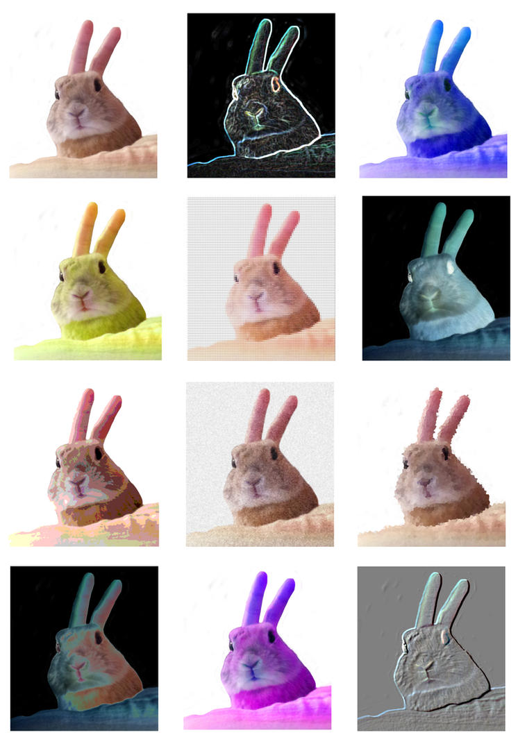 Bunny Warhol by AudreyCosmo13